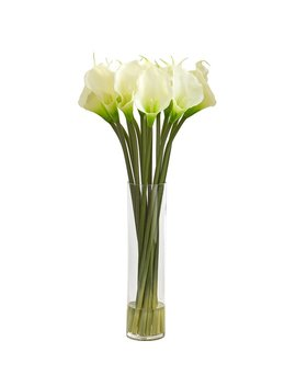 Latitude Run Calla Lilly Floral Arrangement by Latitude Run