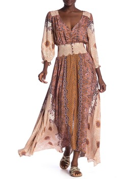 Mexi Cali Rose Maxi Dress by Free People