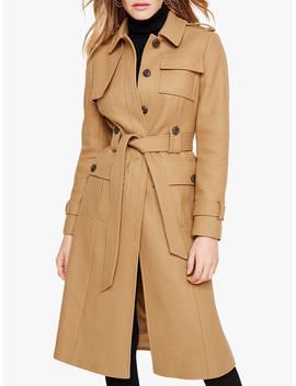 Damsel In A Dress Eleni Belted Trench Coat, Camel by Damsel In A Dress