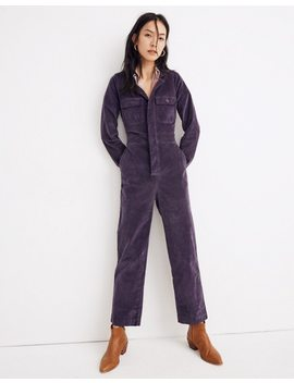 Velveteen Slim Coverall Jumpsuit by Madewell