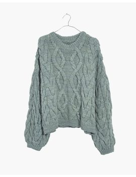 Madewell X Manos Del Uruguay™ Cableknit Pullover by Madewell