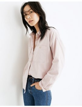 Corduroy Shirt Jacket by Madewell