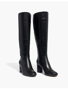 The Scarlett Tall Boot In Leather by Madewell