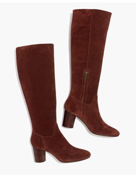 The Scarlett Tall Boot In Suede by Madewell