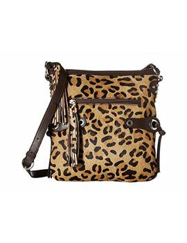 Bernette Leopard Print Bag by Scully
