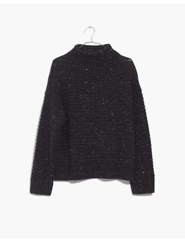 Donegal Belmont Mockneck Sweater In Coziest Yarn by Madewell