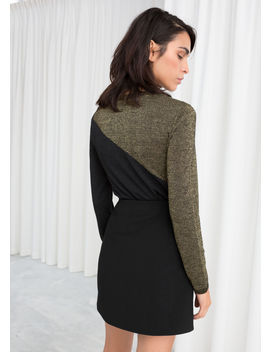 Wool Blend Glitter Sweater by & Other Stories