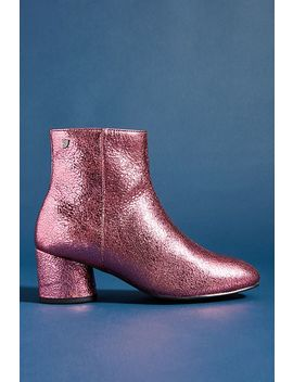 Gioseppo Metallic Leather Booties by Gioseppo