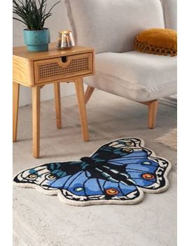 Butterfly Tufted Rug by Urban Outfitters