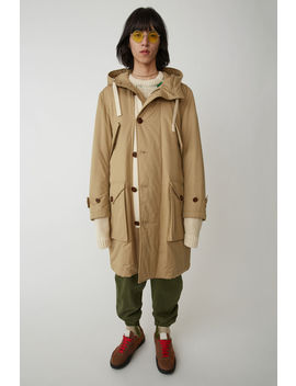 Military Parka Sand Beige by Acne Studios