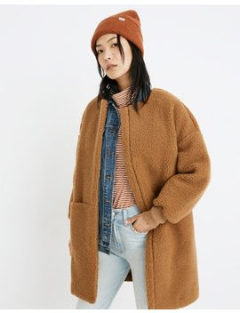 Bonded Sherpa Cocoon Coat by Madewell