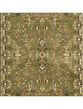 Charlton Home Ottis Power Loomed Sage/Ivory Area Rug & Reviews by Charlton Home