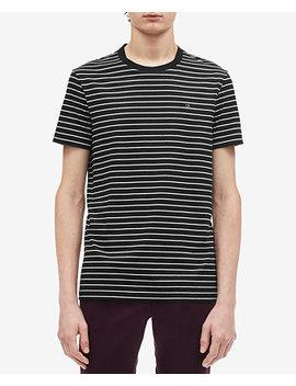 Men's Stripe T Shirt by Calvin Klein