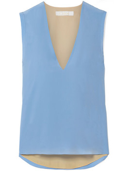 Silk Crepe De Chine Top by Chloé