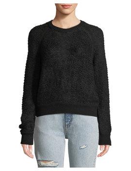 Brooke Wool Blend Crewneck Pullover Sweater by Rag & Bone/Jean