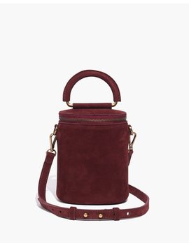 The Holland Binocular Bag In Nubuck Leather by Madewell