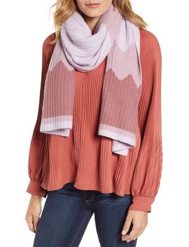 Chevron Cashmere Scarf by Halogen®