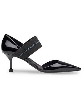 Banded Pumps by Prada