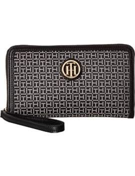Serif Sign Carryall Wristlet by Tommy Hilfiger