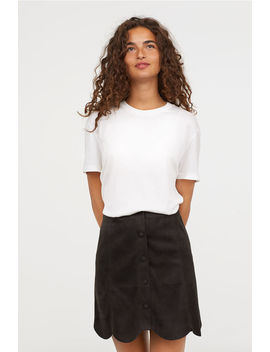 Scallop Hemmed Skirt by H&M