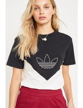 """Adidas Originals – T Shirt """"Clrdo"""" In Schwarz Und Weiß by Adidas Originals Shoppen"""