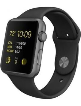 Apple Watch Series 1 42mm Aluminum Case Black Sport Band   (Mp032 Ll/A) by Ebay Seller