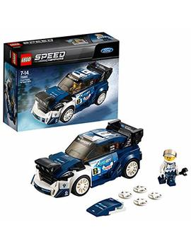 Lego 75885 Speed Champions Ford Fiesta M Sport Wrc Rally Toy Car, Construction Set For Kids by Lego