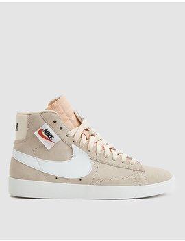 W Blazer Mid Rebel Sneaker In Guava Ice by Nike