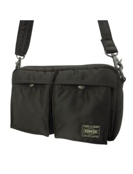 Porter 622 08809 Tanker 2 Way Shoulder Bag Black Nylon From Japan 373 by Porter