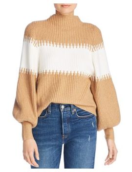 Sofia Oversized Band Stripe Sweater by French Connection