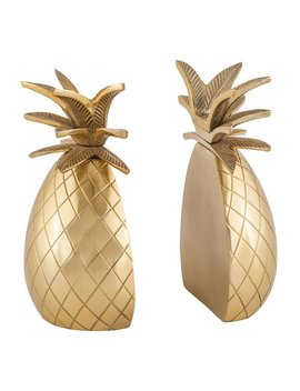Willa Arlo Interiors Glam Pineapple Bookends & Reviews by Willa Arlo Interiors