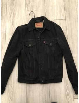 Levi's Black Trucker Denim Jacket Men's Small by Ebay Seller