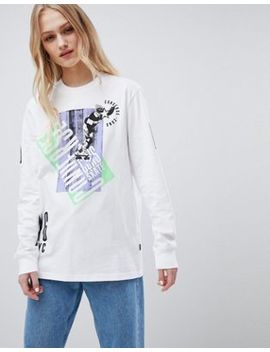 Converse Cons Skate Boarding Long Sleeve T Shirt by Converse