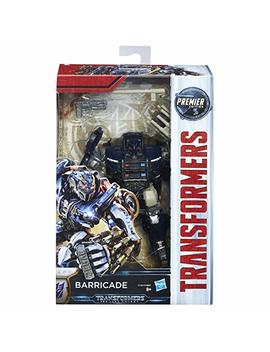 Transformers The Last Knight Premier Edition Deluxe Barricade Figure by Transformers