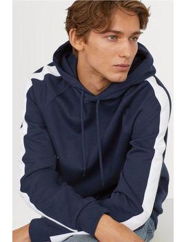 Capuchonsweater Met Biezen by H&M