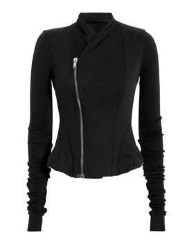 Asymmetrical Zip Jacket by Rick Owens Lilies