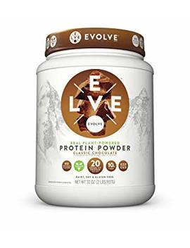 Evolve Protein Powder, Classic Chocolate, 20g Protein, 2 Pound by Evolve