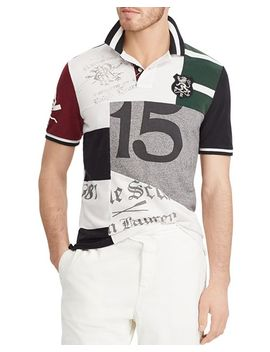 Polo Classic Fit Patchwork Polo Shirt by Polo Ralph Lauren