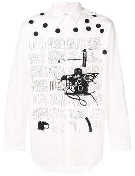 Printed Button Shirt by Comme Des Garçons Shirt