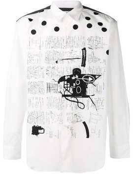 Sketch Print Shirt by Comme Des Garçons Shirt