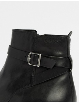Vagabond Amina Leather Buckle Ankle Boots by Vagabond