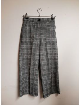 Urban Outfitters Trousers Checked Winter Elasticated Smart Skater by Ebay Seller
