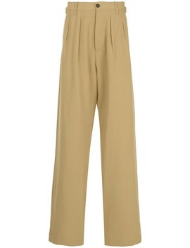 High Waisted Loose Fit Trousers by Kent & Curwen