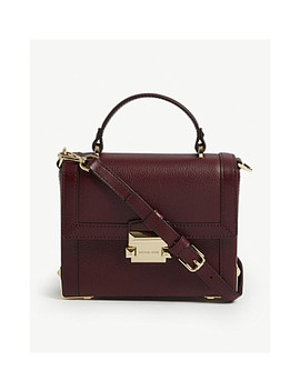 Jayne Pebbled Leather Trunk Bag by Michael Michael Kors