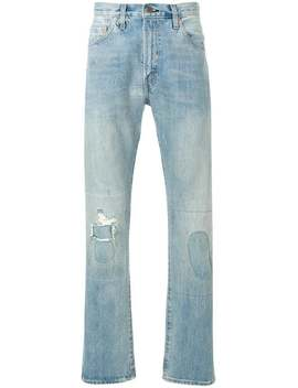 Distressed Patch Detail Jeans by Levi's Vintage Clothing