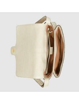 Arli Medium Ostrich Shoulder Bag by Gucci