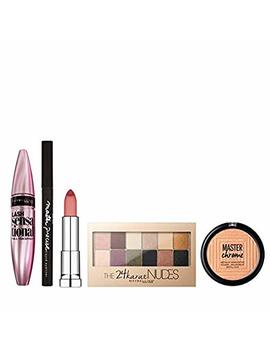 Maybelline Glow All Night Make Up Gift Set For Her, 5 Piece by Maybelline