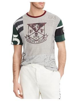Polo Classic Fit Patchwork Tee by Polo Ralph Lauren