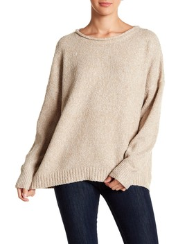 Crew Neck Mark Sweater by 14th & Union