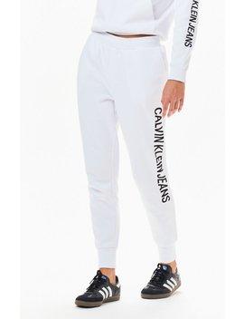 Calvin Klein Fleece Jogger Pants by Pacsun